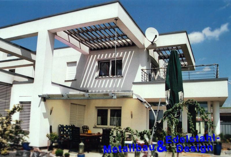balkone terassen von metallbau und edelstahldesign wiederhold. Black Bedroom Furniture Sets. Home Design Ideas